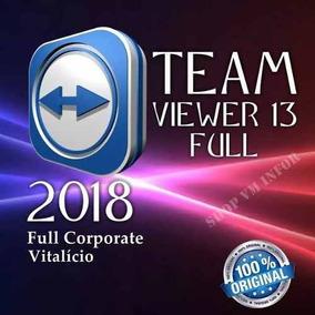 Teamviewer 13 Corporate 2018 , O Melhor Do Ml Nao Expira!