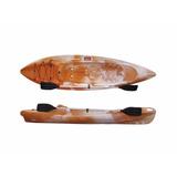 Kayak Brudden Touring Naranja Y Blanco