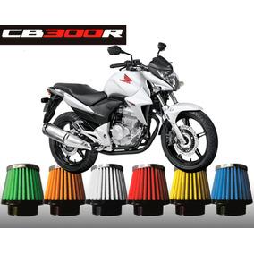 Filtro De Ar Esportivo Honda Cb300 R Race Chrome
