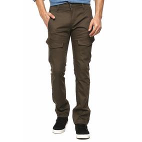 Pantalon Levis Cargo Commuter Café Original, Talla 34