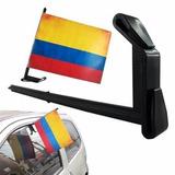 Bandera De Colombia Nuevo Con Soporte . Para Vehiculo