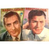 2 Revista Radiolandia 1951/2 Sinatra - Troilo - M Legrand