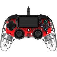 ..:: Control Alambrico Ps4 Led Rojo ::.. Playstation 4