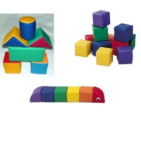 Mini Bloques Bebe, Mini Figuras Y Mini Gusano Articulado