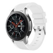 Pulseira De Silicone P/ Samsung Galaxy Watch 46mm - Branca