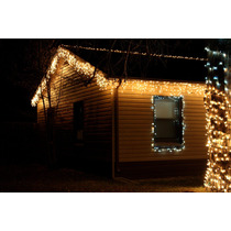 Lluvia Luz Blancas Fija 150x60cm Deco Navideña Bodas Eventos