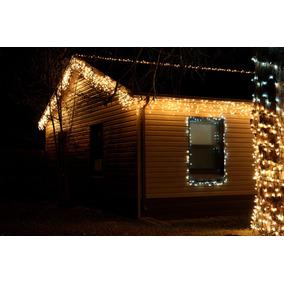 Luz Lluvia Blanca Calida 210x60cm Bodas El Rey De La Navidad