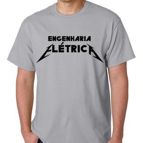 Camiseta Camisa Engenharia Elétrica Blusa Faculdade Curso