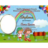 Pack 80 Diplomas Preescolar, Sexto Grado, Bachilleres
