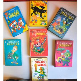Lote Manuais Disney - Capa Dura + Manual Da Copa Brinde