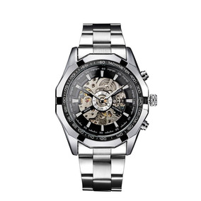 Relógio Importado Winner Skeleton Automático Promoção!!!