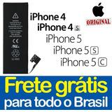 Bateria Apple Iphone 4 / 4g / 4s / 5 / 5s / 5c + Garantia!