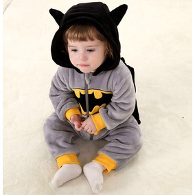 Roupa Para Bebês Na Fantasia De Batman P