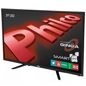 Tv Smart Led 39 Ph39n91dsgw Philco Bivolt Com Usb Hdmi Lan