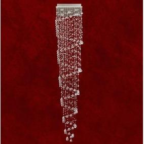 Lustre Cristal Plafon Iluminacao Parede Sala 2281-9 2,8m Mr