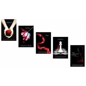 Kit Livros Saga Crepúsculo (5 Livros) !