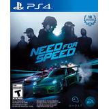 Need For Speed Juego Fisico Ps4 En Manvicio Store!!!