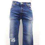 Pantalón Collors Couture Mez Corte Skinny Strech 3351