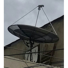 Antena Parabólica Sat + Lnb 2 Salida Banda Ku. Deco Star