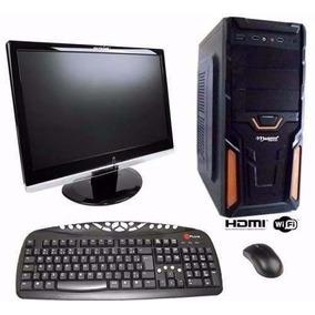 Pc Completo Gamer Com Wi-fi E Tela De 15 Lcd! Frete Gratis!