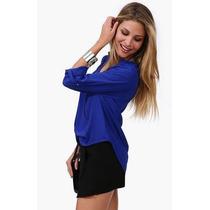 Camisa Gasa Dama Varios Colores Oferta!!!