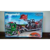 Playmobil Caminhão E Escavadeira 5026 Raro
