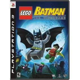 Lego Batman+lego Batman 2 Ps3 Midia Fisica Lacrado