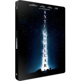 Blu Ray Steelbook Interestelar - Dub/leg, Lacrado