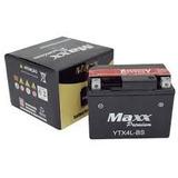 Bateria Moto Ytx 4l-bs Maxx Yuasa Scooter 50cc