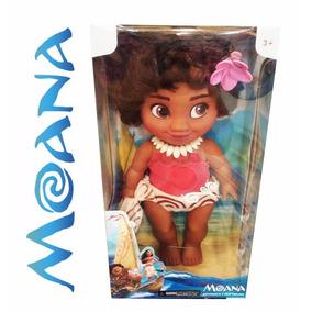 Muñeca Moana Bebe Canta 28cm Princesa Juguetes Niña