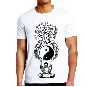 Camiseta Roupas Masculina Buda Tony Country Arvore