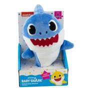 Pelúcia Baby Shark Musical 20cm - Toca Música - Original
