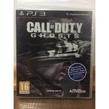 Call Of Duty Ghosts Ps3 Nuevo Sellado Original Físico Envios