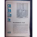 Revista Caballete Nº 48 Junio De 1968