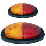 3par Lanterna Carretinha Reboque Moto Barco Cavalo Trailler
