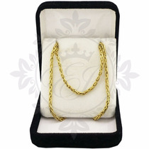 Cadena De Oro 18 K Hombre Soga, 7.4 Grs -50 Cm, Envio Gratis
