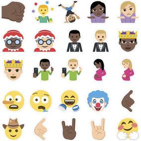 Adesivo Decorativo Emoji Destacável Sinais E Objetos