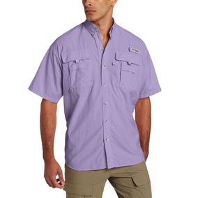 Camisa Columbia Pfg Bahama Ii, Manga Corta, Hombre, Talla M