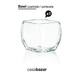 Bawl Portavela Vidrio Florero Souvenir Regaleria