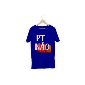8320901831 Camisa Camiseta Pt Não Bolsonaro 2018  ptnão Unissex. 6 cores. R  39