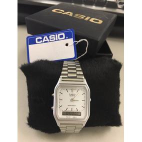d34b3840e31 Casio Retrô Vintage Unisex Silver - Relógios De Pulso no Mercado ...