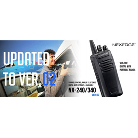 Radio Portátil Digital Kenwood Nx-240 / 340
