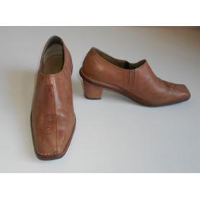 Botinetas Blaque 37 Cuero Vacuno Botas Zapatos Zpm2018 Mujer
