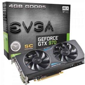 Placa De Vídeo Evga Geforce Gtx970 4gb Ddr5 Pci-express