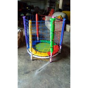 Cama Elástica Pula 1,0m Brinquedo Infantil Com Proteção