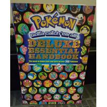 Libro Pokémon Deluxe Essential Handbook Envío Gratis!