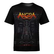 Camiseta Masculina Angra Estampa Digital Md01