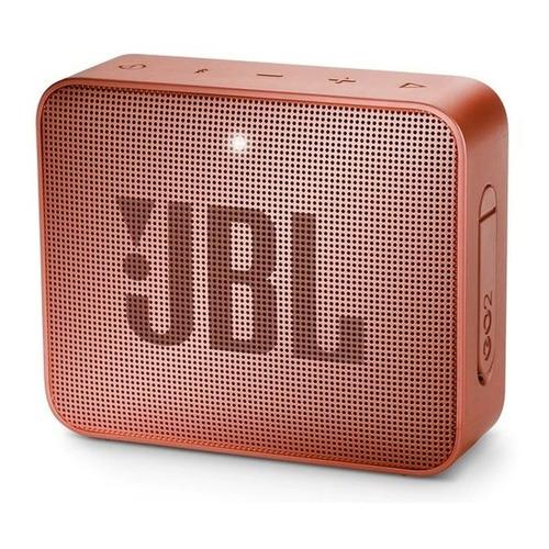 Parlante JBL GO 2 portátil inalámbrico Sunkissed cinnamon