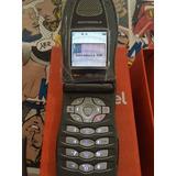 Telefono Nextel I833 Gris Gray Chico Liviano Con Tapa