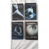 Colección Cincuenta Sombras (3 Libros) + Grey (1er Libro)